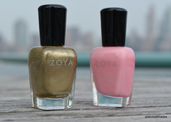 Zoya Ziv and Kitridge by Zoya Nail Polish