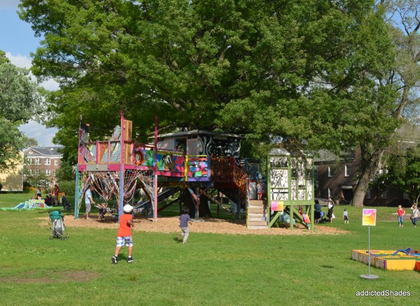 Cool Play areas for both adults and children at Governor's Island