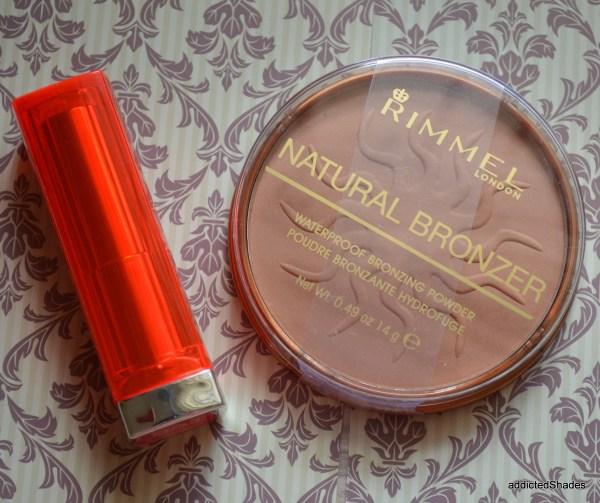 Second Winner Rimmel Bronzer & Maybelline Shocking Coral
