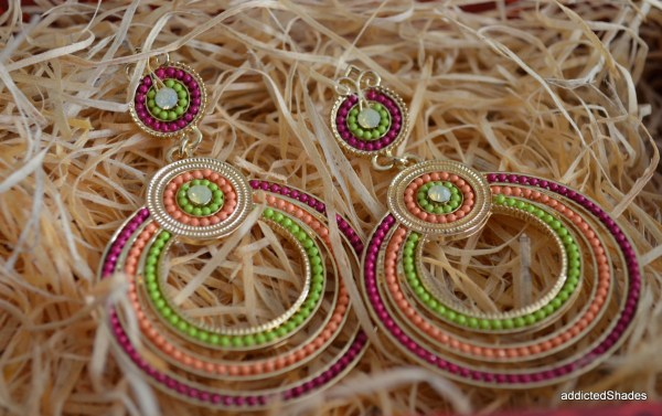Earrings from Charming Charlie