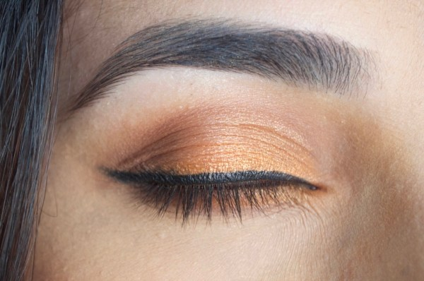 Orange Eyeshadow Look