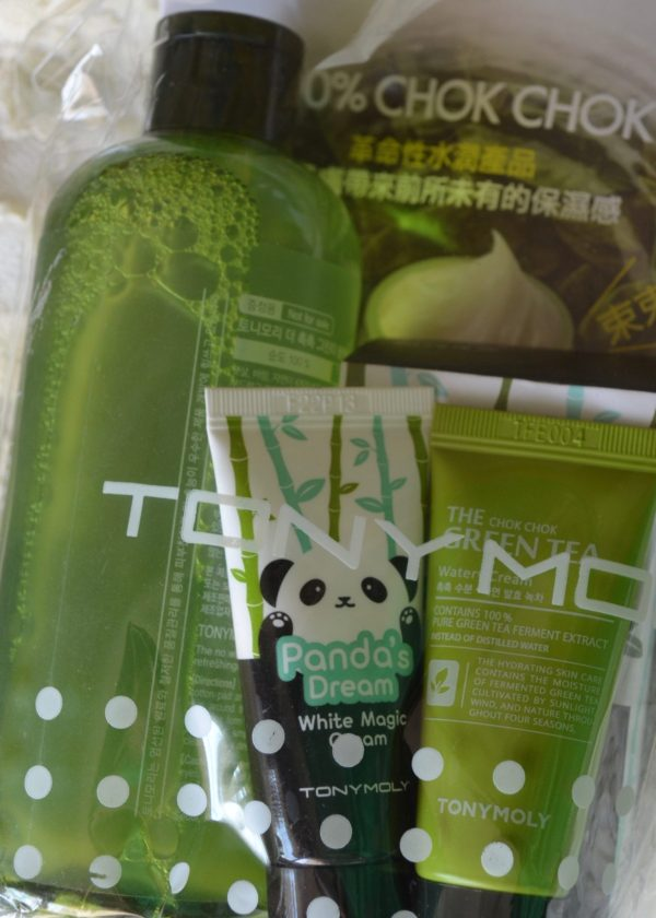 Tony Moly Toner and Face Cream