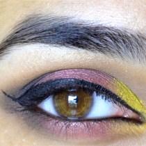 Pink Yellow Eye
