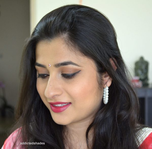 Navratri Makeup Look 4