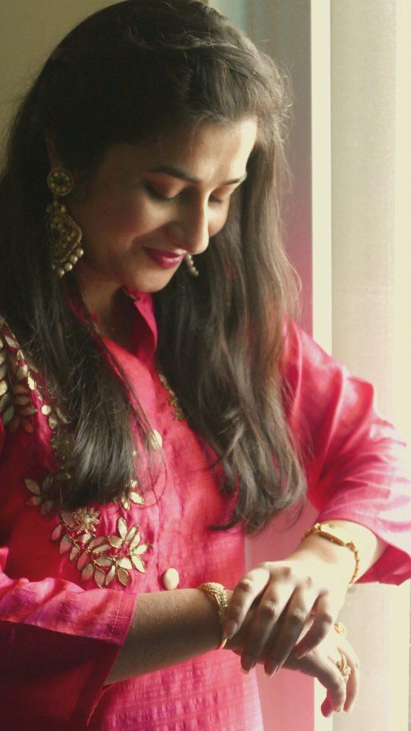 Diwali Day Look