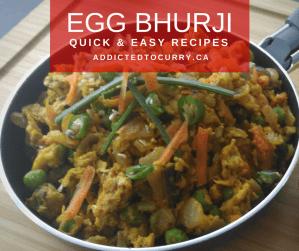 Egg Bhurji - A Quick & Simple Recipe