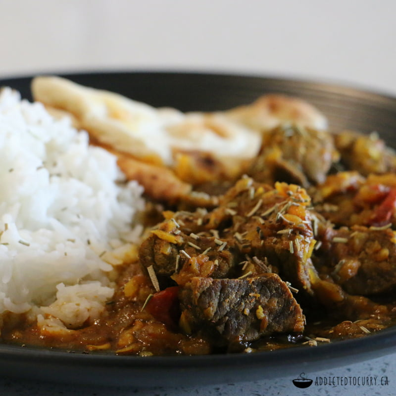 Aromatic Spicy Beef Curry Recipe