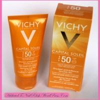 Haul: Vichy capital soleil SPF50 mattifying face fluid dry touch