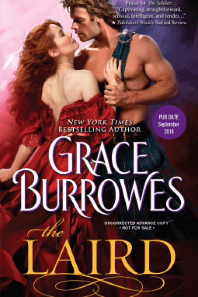 Book Review-The Laird by Grace Burrowes