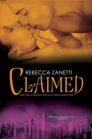 Book Review-Claimed by Rebecca Zanetti