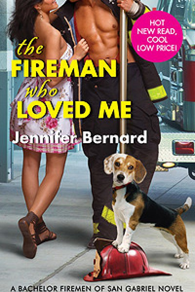 Book Review-The Fireman Who Loved Me by Jennifer Bernard