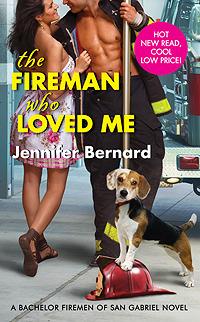 The Fireman Who Loved Me (The Bachelor Firemen of San Gabriel, #1)