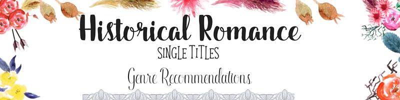 Historical Romance-Singles