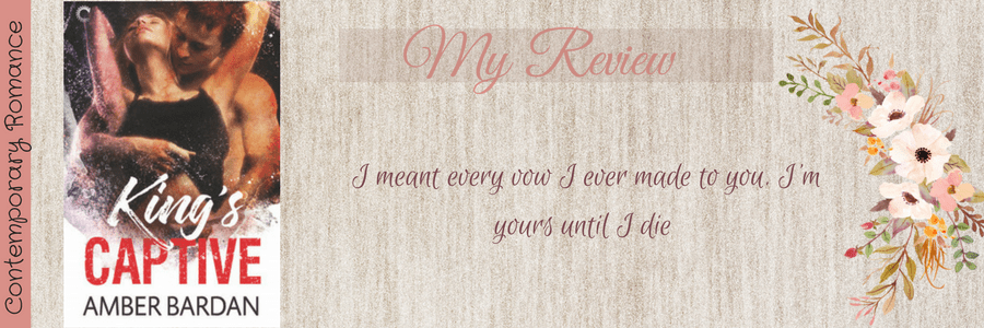 Book Review-King's Captive by Amber Bardan