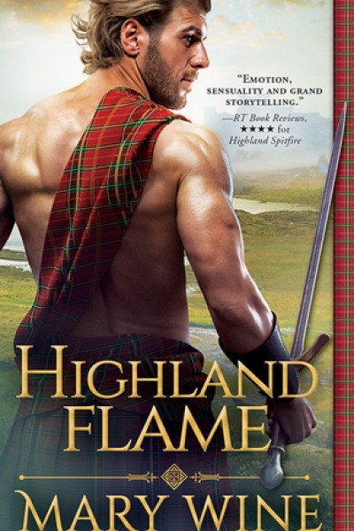 Book Review-Highland Flame by Mary Wine