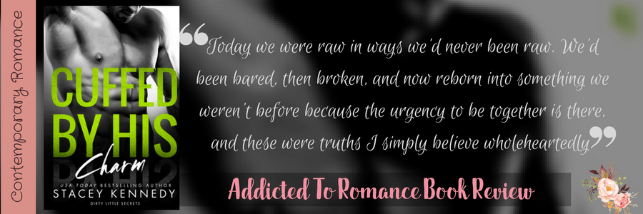 Book Review-Cuffed By His Charm by Stacey Kennedy