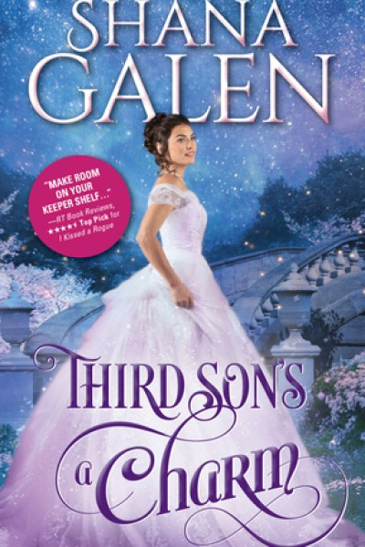 Book Review-Thirds Sons A Charm by Shana Galen