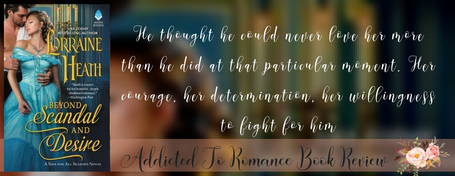 Book Review-Beyond Scandal and Desire by Lorraine Heath