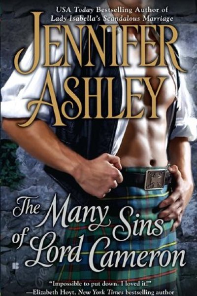 Book Review-The Many Sins of Lord Cameron by Jennifer Ashley