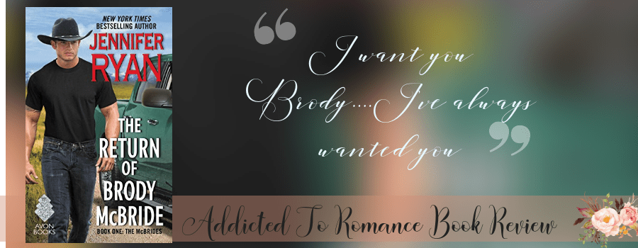 Book Review-The Return of Brody McBride by Jennifer Ryan