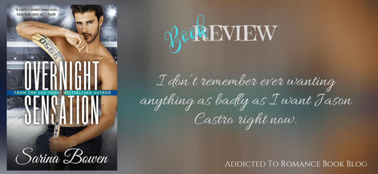 Book Review-Overnight Sensation by Sarina Bowen