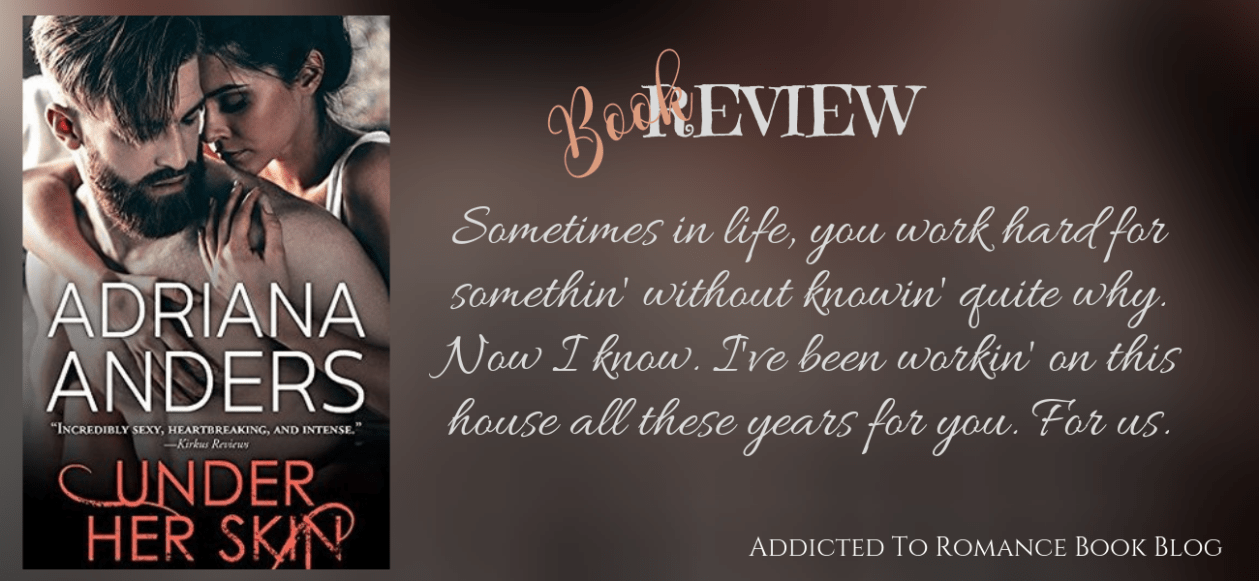 Book Review-Under Her Skin by Adriana Anders