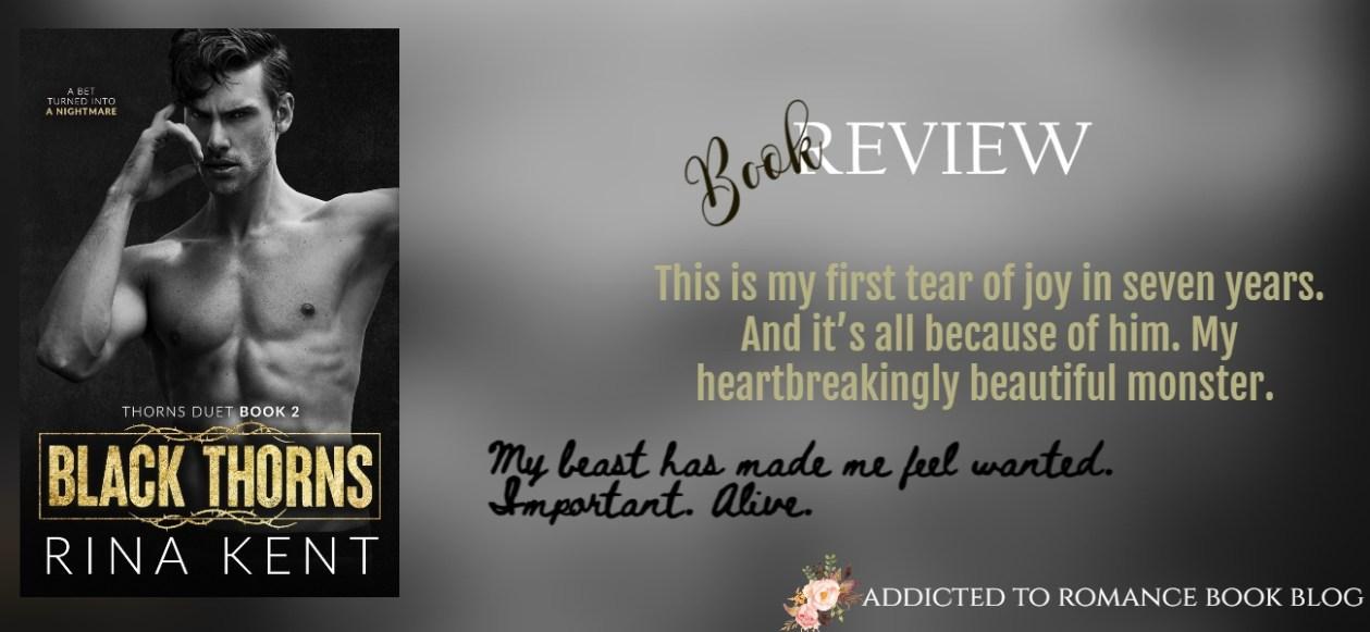 Hiatus Book Review-Black Thorns by Rina Kent