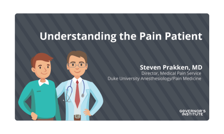 Understanding the Pain Patient