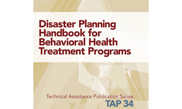 Disaster Preparedness for Opioid Treatment