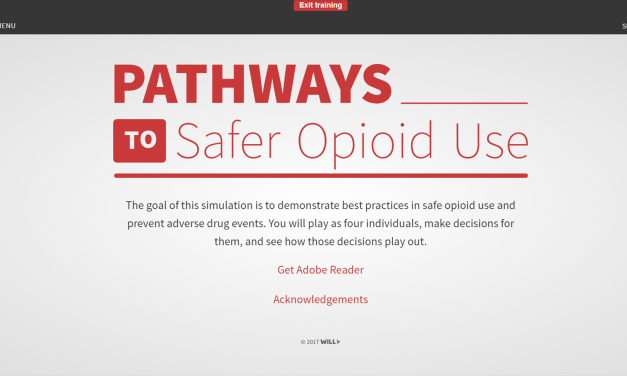 Pathways to Safer Opioid Use – Webinar