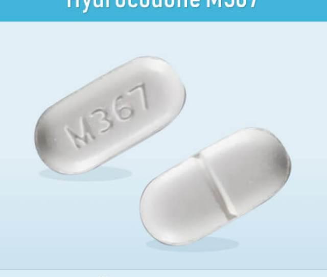 Hydrocodone M367 Pill