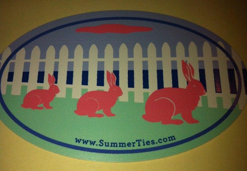 rabbits summer ties
