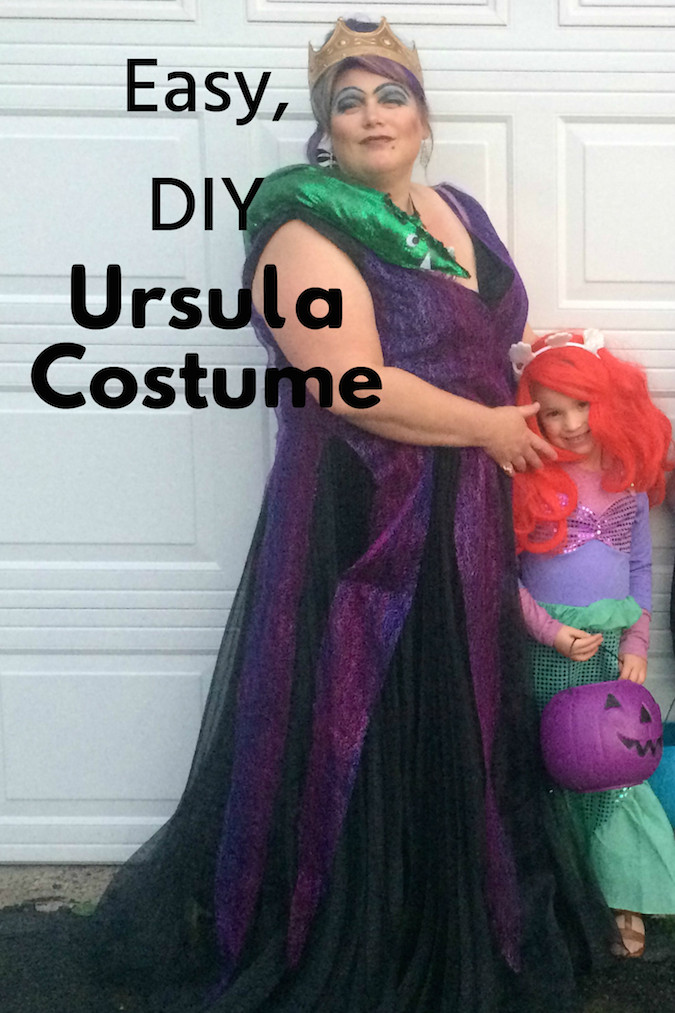 Easy Diy Ursula Costume What I M Into October 2018 Ad Zierman  sc 1 st  Poemsrom.co & diy ursula sea witch costume | Poemsrom.co