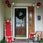 Our Holiday Front Porch