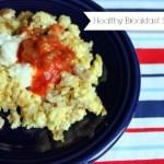 Healthy Breakfast Scramble