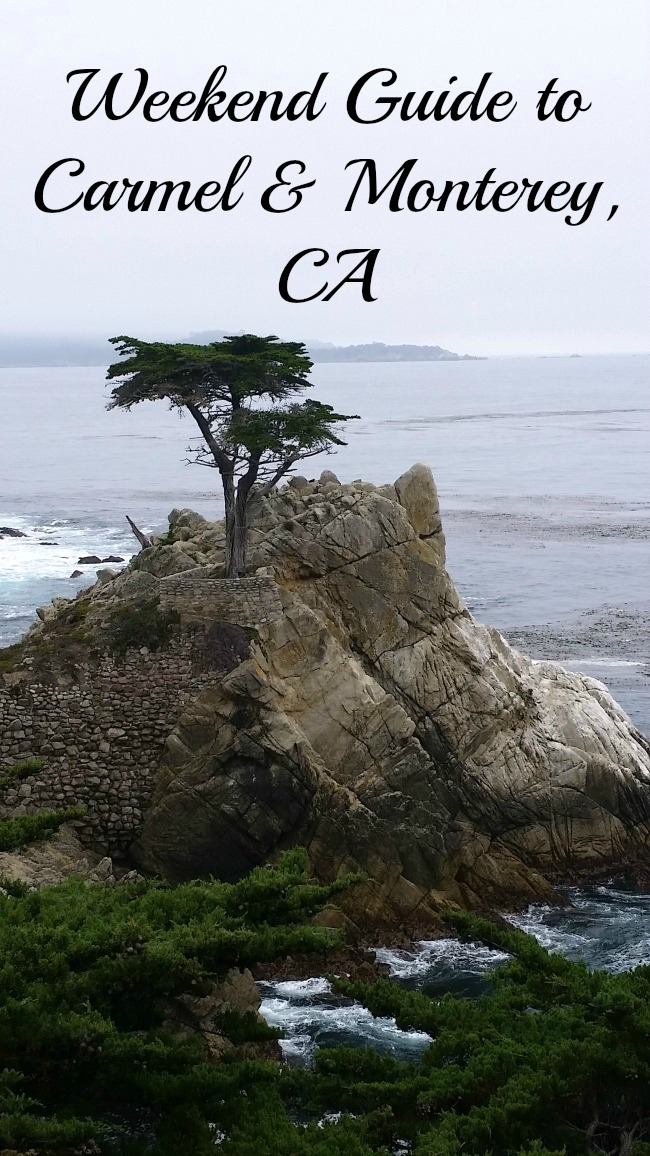 Weekend guide to Carmel and Monterey, CA.
