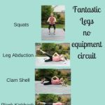 Fantastic legs: No equipment circuit