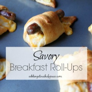 On the go for the holidays & a savory breakfast recipe