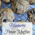 Blueberry Power Muffins: Muffin #9