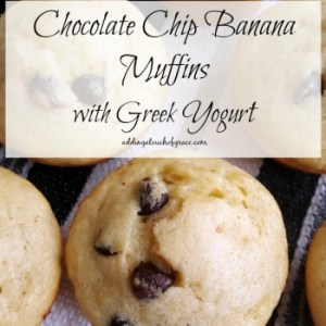 Chocolate Chip Banana Muffins: Muffin #12