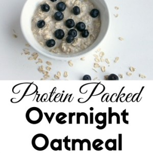 Protein Packed Overnight Oatmeal