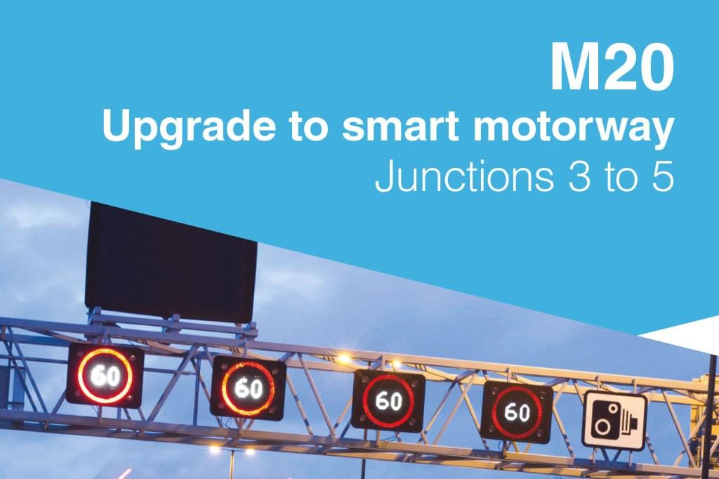 Upgrade to smart motorway - M20