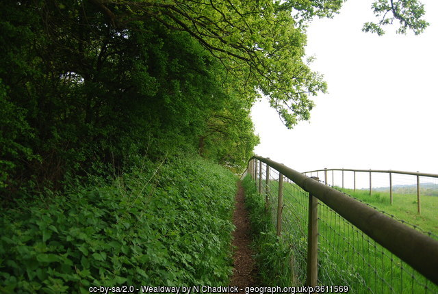 The Wealdway, Addington