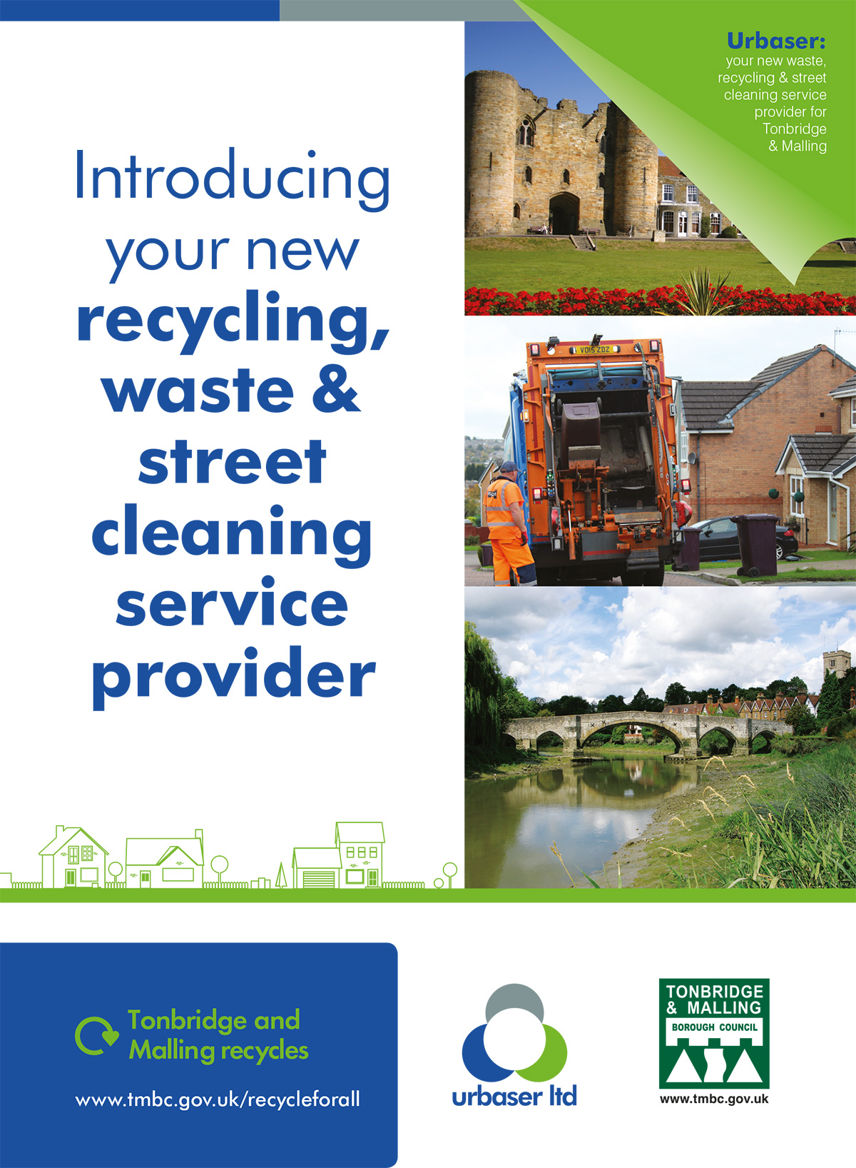 Urbaser Tonbridge Waste Provider - Text version follows images