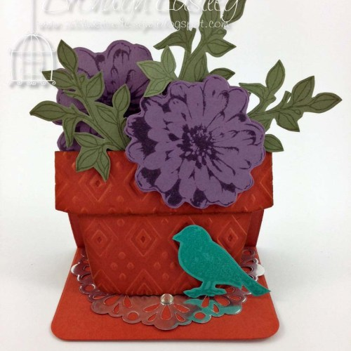 Flower Pot Choose Happiness