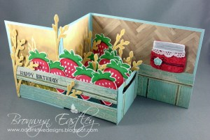 Z-Fold Crate of Strawberries