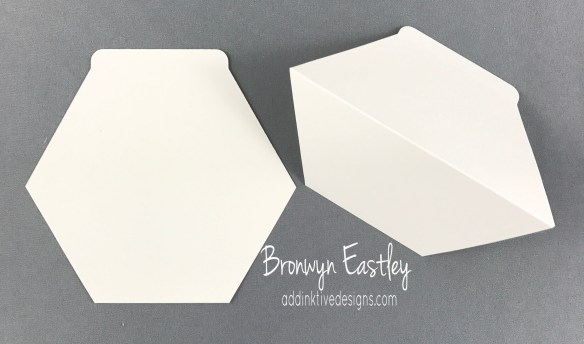 How to Make a Hexagon Easel Card Using the Window Box