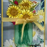 Jar Of Flowers Gift Card Holder 3