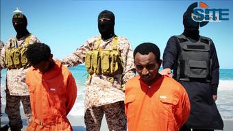 ISIS Video Shows Mass Beheading Of Ethiopian Christians In ...