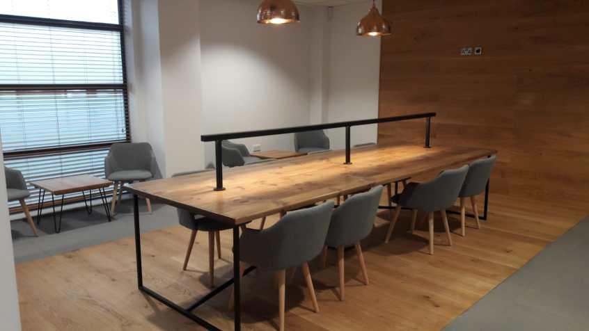 Office breakout space